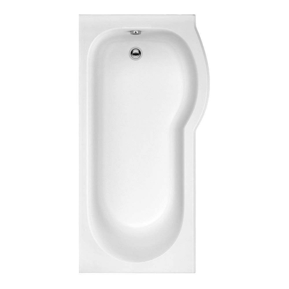 Trojan Compact 1675mm x 800mm Shower Bath - Right Hand