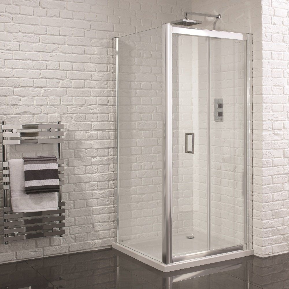 Aquadart Venturi 6 Frameless Bifold Shower Door 1000mm
