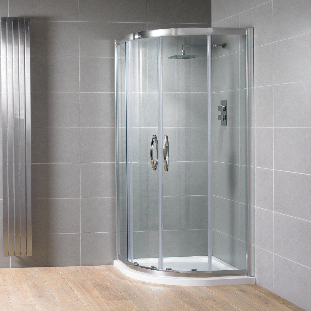 Aquadart Venturi 8 Double Door Quadrant Shower Enclosure 1000mm X 800mm
