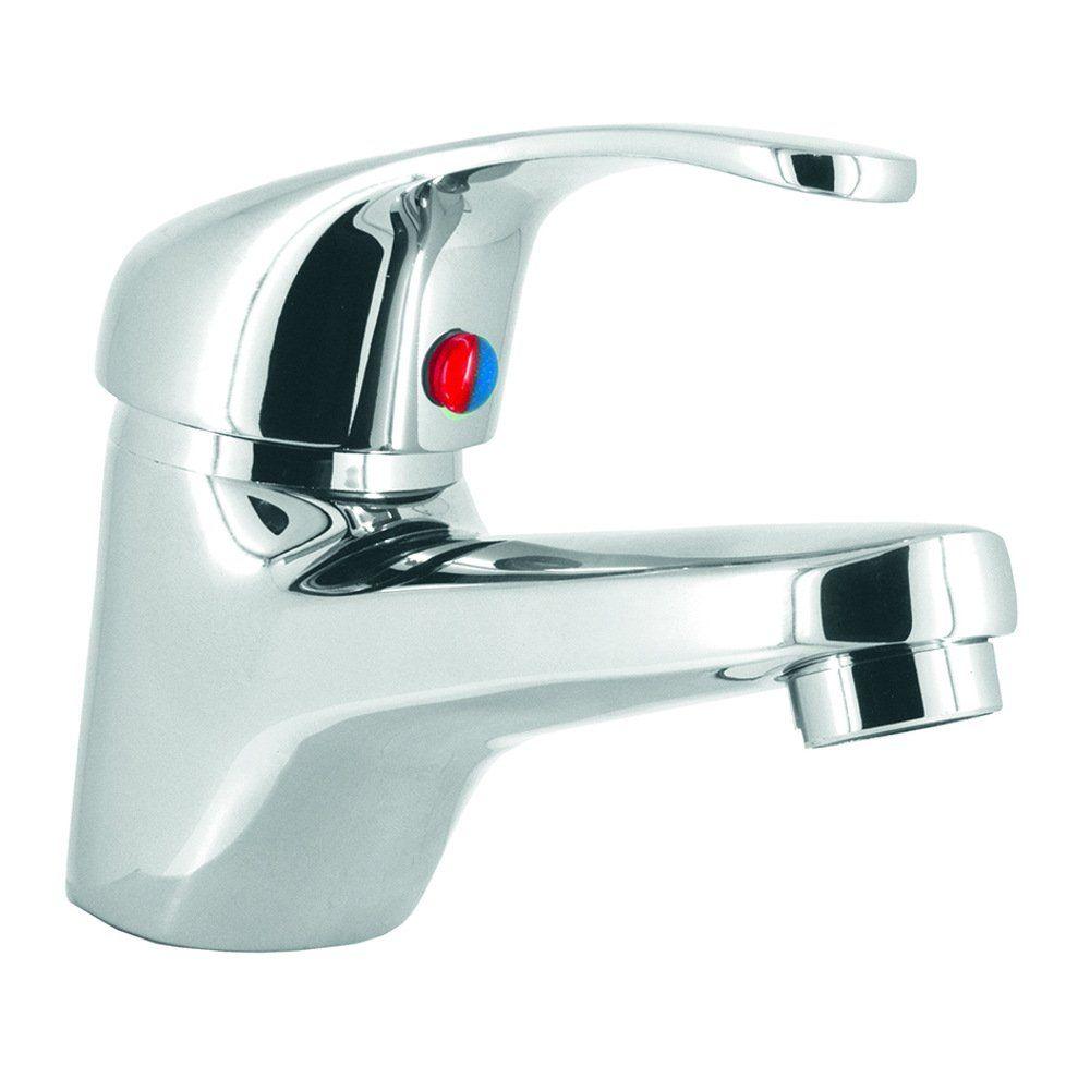 Base Contemporary Mono Basin Mixer & Bath Shower Mixer Set