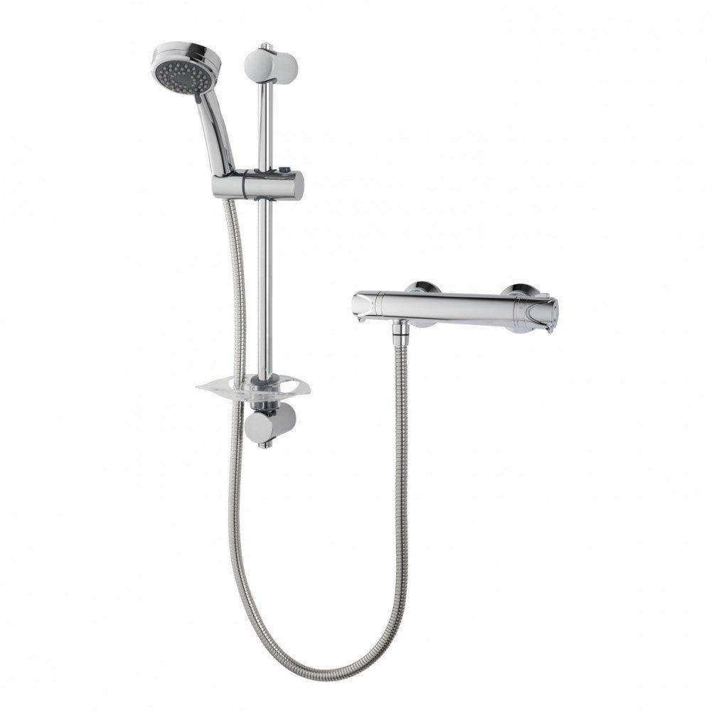 Triton Dene Eco Thermostatic Bar Mixer Shower