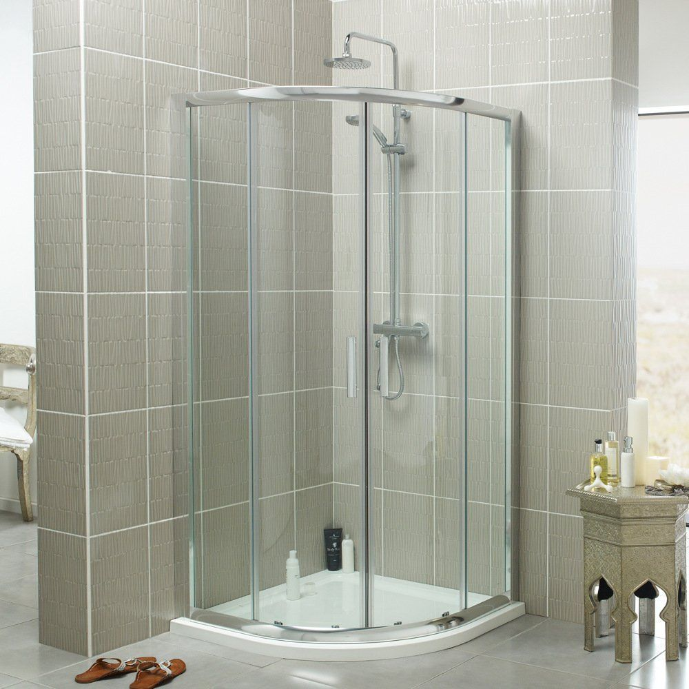 Kartell Koncept Double Sliding Door Quadrant Shower Enclosure 900mm ...