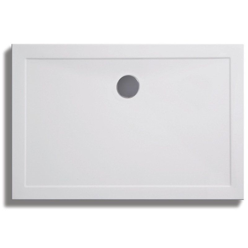 Lakes Contemporary Lightweight Rectangular Shower Tray 1100mm x 900mm