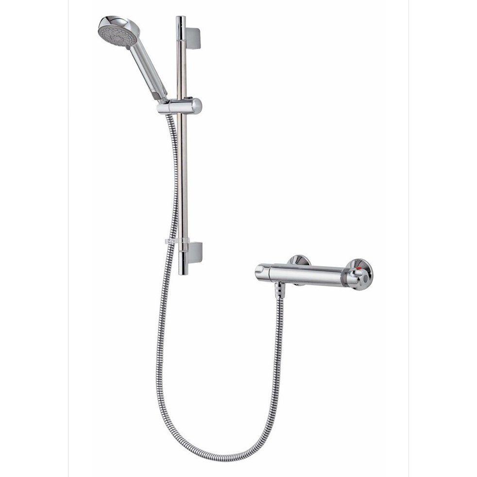 Aqualisa Midas 100 Bar Mixer Shower With Adjustable Head Chrome