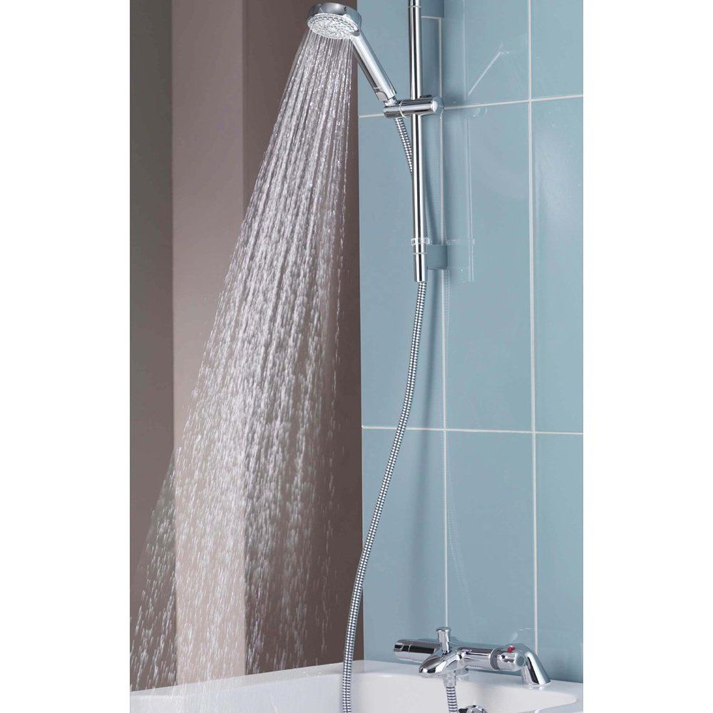 Aqualisa Midas 100 Bath Mixer Shower With Adjustable Head Chrome