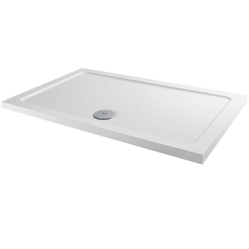MX Elements Anti-Slip Rectangular Shower Tray 1200mm x 800mm