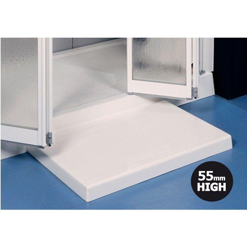 Contour Prinia 55mm High Shower Tray Step