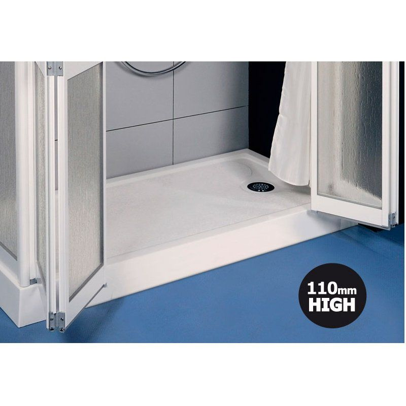 Contour Prinia 1300mm x 800mm Step-In 110mm High Shower Tray