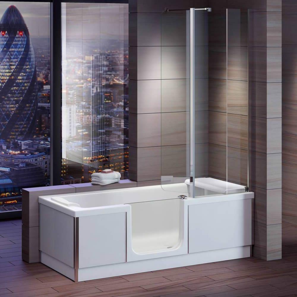 Trojan Bathe Easy Style 1800mm x 800mm Easy Access Bath - Left Hand