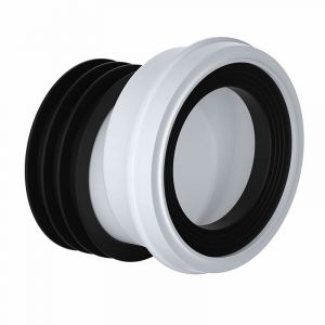 110mm 20mm Offset WC Pan Connector