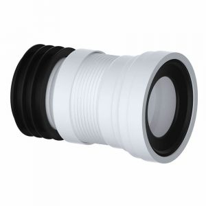110mm Flexible WC Pan Connector Adjustable 200mm - 350mm