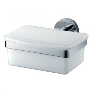 Kosmos Chrome / White Tissue Box