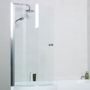 Kartell Adapt P Curved Shower Bath Screen