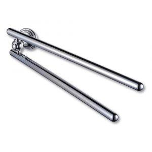 Allure Chrome Adjustable Towel Rail 434mm