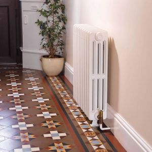 Apollo Firenze Victorian Cast Iron Radiator - Primer