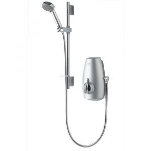 Aqualisa Aquastream Thermostatic Pumped Shower Satin Chrome