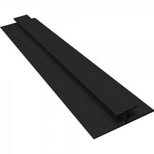Black PVC H Joining Strip H2700mm D5mm
