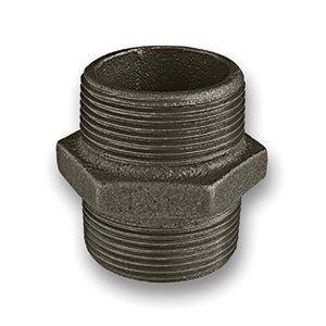 Black Iron Nipple 1/4