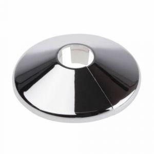 Chrome Pipe Shroud 15mm