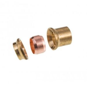 Brass Compression Reducing Set 15mm x 10mm