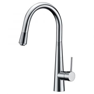 Roma Bella Pull Out Kitchen Sink Mixer - Chrome