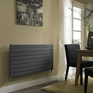 Vogue Anthracite Fly Line 598mm x 1200mm - Single Panel Radiator