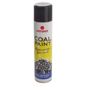 Gas Fire Black Coal Spray Paint 300ml