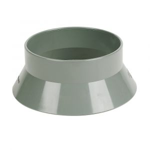 Grey 110mm Pushfit Soil Weathering Collar
