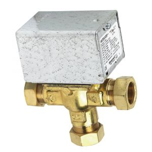 Honeywell V4073A 22mm 3 Port Motorised Zone Valve