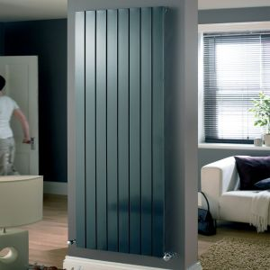 Eucotherm Anthracite Mars Single Radiator 600mm x 595mm