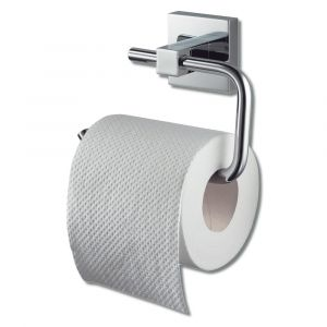 Mezzo Chrome Toilet Roll Holder