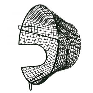 Plastic Coated Circular Plume Kit Terminal Guard 280mm Diameter x 165mm Depth ( 11