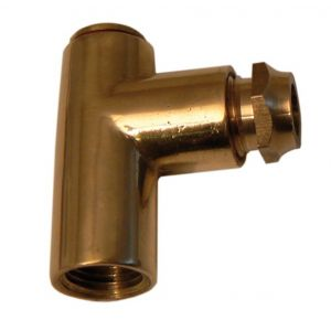 Polished Brass 8mm Restrictor Elbow 1