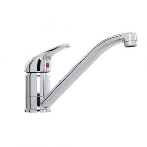 Consort 1 Tap Hole Single Lever Sink Mixer - Tubular Spout