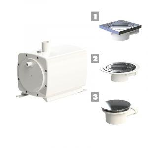 Sanifloor 3 Shower Waste