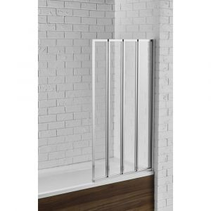 Aquadart Venturi 6 Swiftseal 4 Fold Bath Screen 800mm x 1400mm High