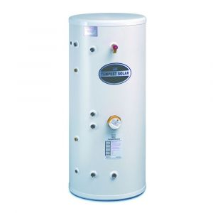 Telford Tempest 170 Litre Indirect Unvented Stainless Steel Solar Cylinder