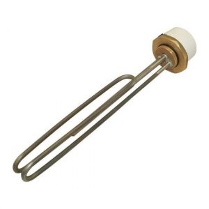 14 Inch  Titanium Immersion Heater - 1 3/4