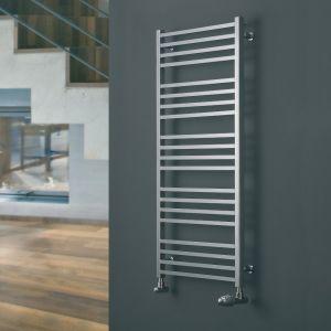 Eucotherm Chrome Verano Towel Radiator 740mm x 500mm