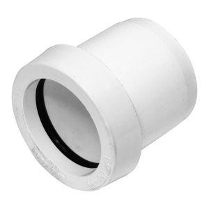 White 40mm x 32mm Pushfit Waste Reducer